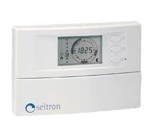 Стаен термостат програмируем електронен Seitron TCP CD1 BI, 10-30°C 230V