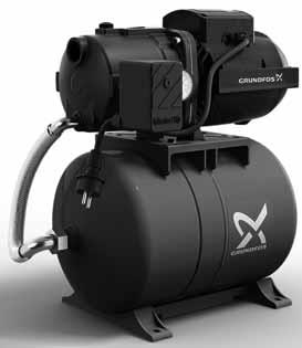 Хидрофорна система Grundfos JPA4-47 PT-H с мембранен съд 20 л