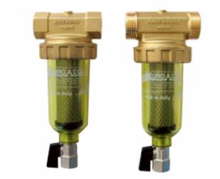 """Филтър за вода с неръждаем патрон и кранче за източване 100 микрона Nanofiltro 3/4""""+1"""""""