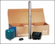 Пакет за водоснабдяване от сондажи Grundfos SQE3-65