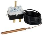 Капилярен термостат за вграждане регулируем 0÷40 °C, дължина 1,5 m