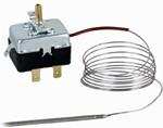 Капилярен термостат за вграждане регулируем 0÷300 °C, дължина 1,5 m