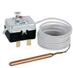 Капилярен термостат за вграждане защитен 100 °C, автомат.възстановяване, дължина 1,5 m