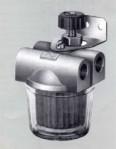 """Горивен филтър FAG 100mic двупътен с пластм. чаша и спирателен кран 3/8"""""""
