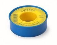 Тефлонова лента ролка Unitape PTFE, 12mm x 0,075 mm x 12 m