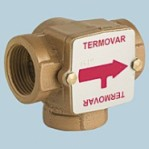"Термовентил за котли на твърдо гориво Thermovar 1"" 61°C"