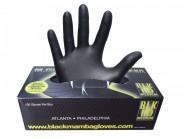 Ръкавици за еднократна употреба BLACK MAMBA (Черна мамба), размер XL, 100 броя
