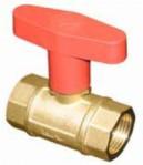 """Кран сферичен с изолирана дръжка и възвратен клапан 3/4"""" PN10"""