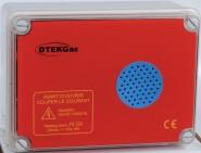 Звукова и светлинна аларма за газ проблясваща DTEK Gaz FS220 230V AC