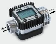 "Електронен брояч за течности алуминиев Piusi K24-A, 7-120 л/min, 1"" MF"