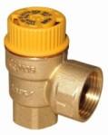 """Предпазен клапан по налягане за соларни системи BRV690 1/2""""x3/4"""" 6 bar TUV"""
