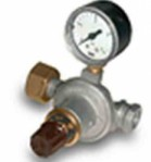 Редуцир вентил за газ 8 kg/h, вход: max. 16 bar, изход 0,5-3 bar, с манометър