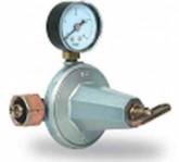 Редуцир вентил за газ 12 kg/h, вход: max. 16 bar, изход 0,5-4 bar, с манометър
