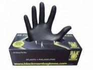 Ръкавици за еднократна употреба BLACK MAMBA (Черна мамба), размер M, 100 броя
