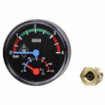 "Термоманометър aксиален Wika THM10 Ø80 mm 0-10bar 0-120°C 1/2"""