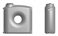 Резервоар за питейна вода паралелепипед Elbi CPZ 2000 л, син