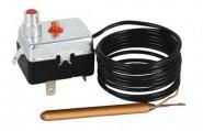 Капилярен термостат за вграждане защитен 100 °C, ръчно възстановяване, дължина 1,5 m