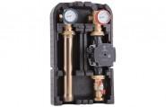 Директна помпена група за отопление с опция байпас Barberi 01G.DN25 G 1″F-G 1 1/2″M (без