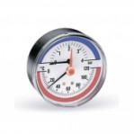 """Термоманометър аксиален Ø80 mm, тип TIRM80, 0-10bar, 0-120°C 1/2"""""""
